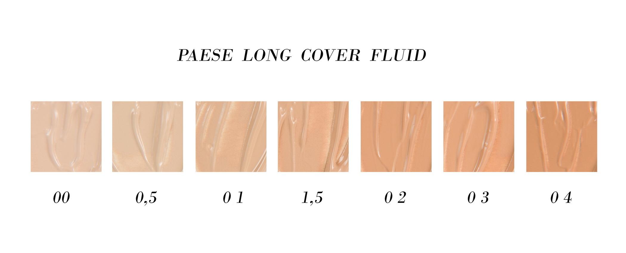 0d86ea21 PAESE Podkład Long Cover Fluid, kość słoniowa 0.5, 30ML