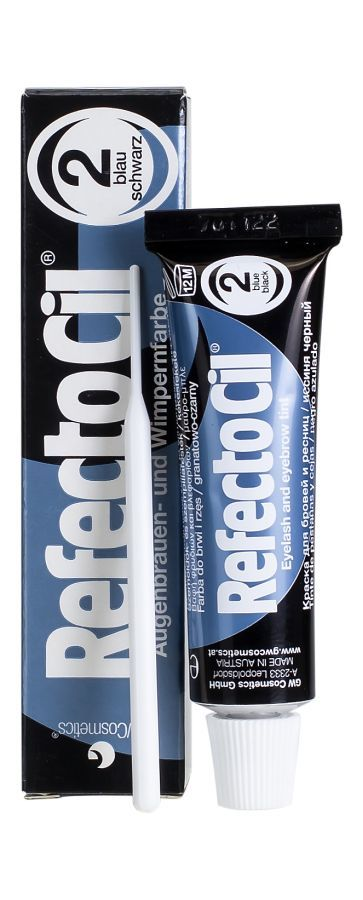 Refectocil żelowa Henna Do Brwi Blue Black 2 15ml Lavendapl
